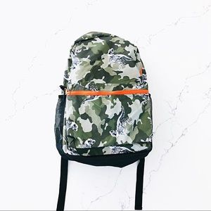 The Children's Place Camo Dinosaur Backpack NWOT
